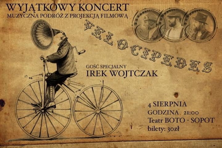 Ze Velocipedes + Irek Wojtczak // koncert z projekcją