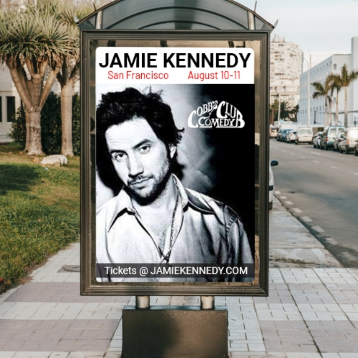 Jamie Kennedy in San Francisco August 10-11