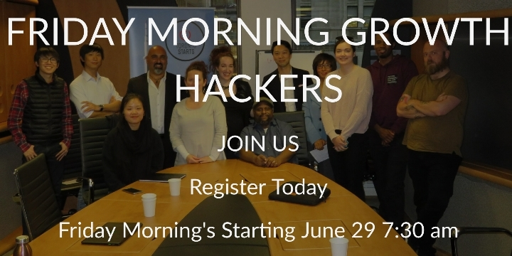 Growth Hackers Friday Morning