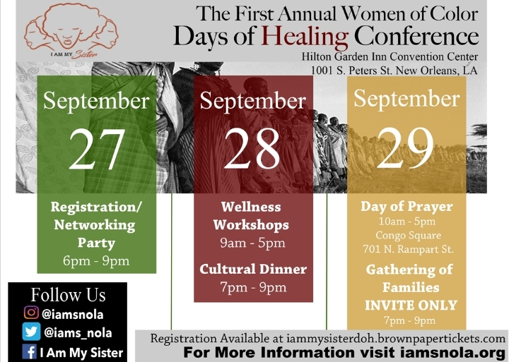 1st Annual Women of Color Days of Healing Con