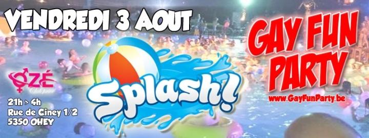 Gay Fun Party - Splash party !