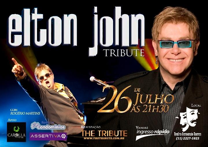 Elton John Tribute no Teatro Fernando Torres