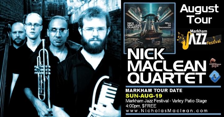 NICK MACLEAN QUARTET feat. BROWNMAN ALI (Mark