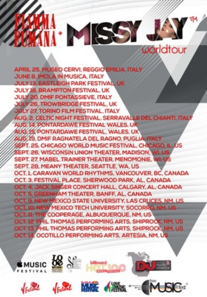 Missy Jay US Tour w/ Fiamma Fumana at Canadia