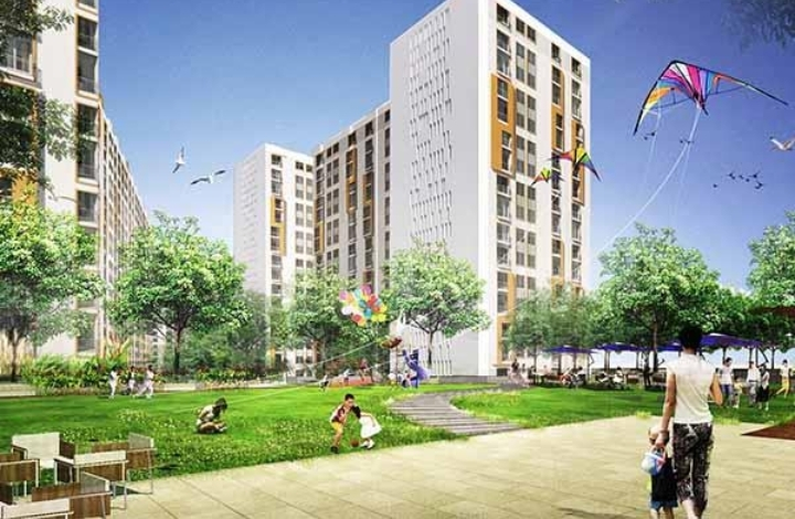 New Haven Ribbon Walk 1, 2 BHK Flats in Mamba