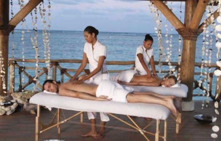 Massage on the SKY BEACH