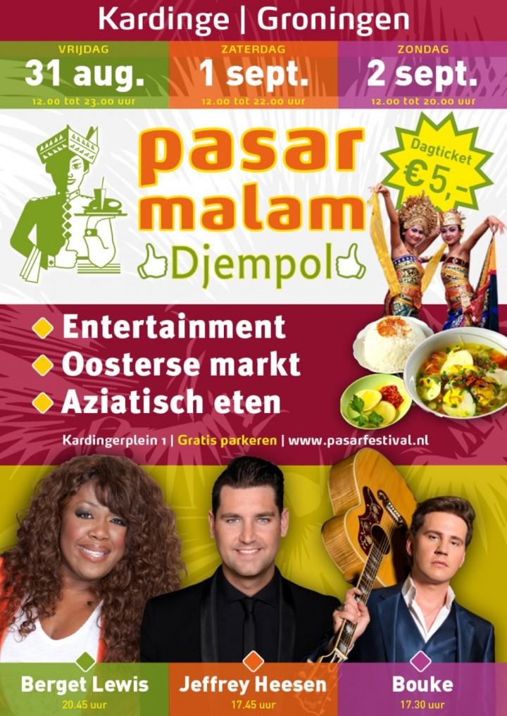 PASAR MALAM DJEMPOL in Kardinge Groningen!