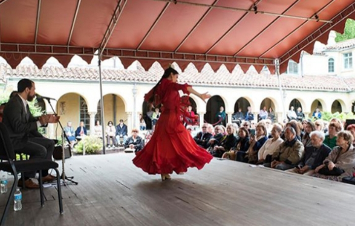 Flamenco in the Courtyard