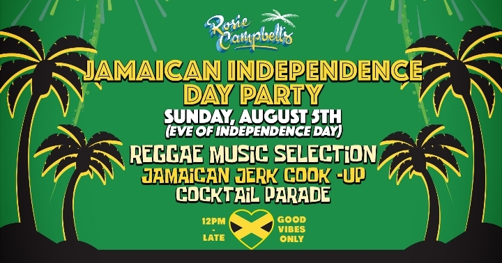 Jamaican Independence Day Celebrations at Ros