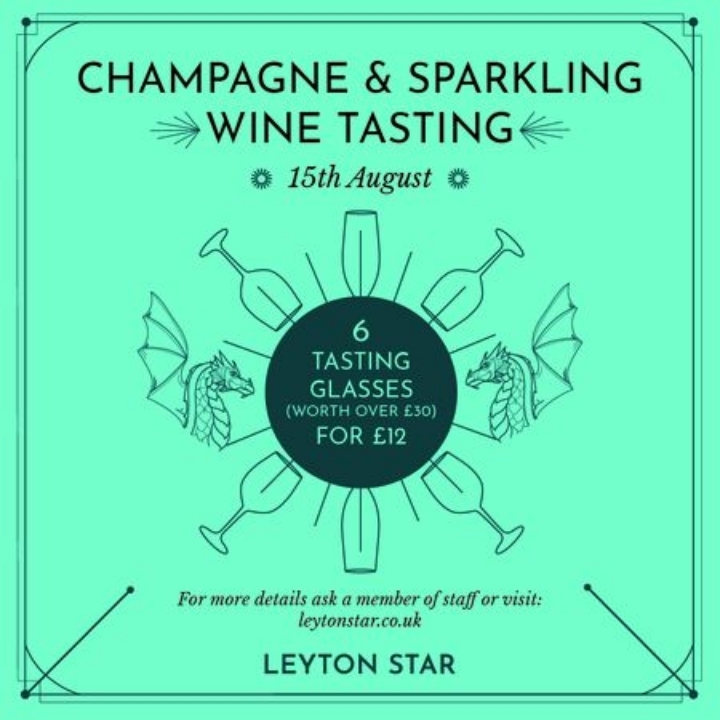Champagne and Sparkling Wine Tasting - Leyton