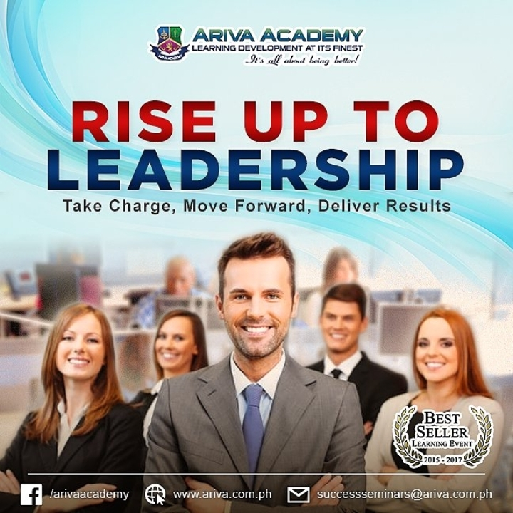 Rise Up to Leadership Take Charge, Move Forwa