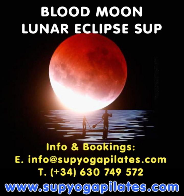 Blood Full Moon & Lunar Eclipse SUP Experienc