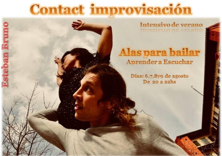 Intensivo Contact impro: Alas para bailar