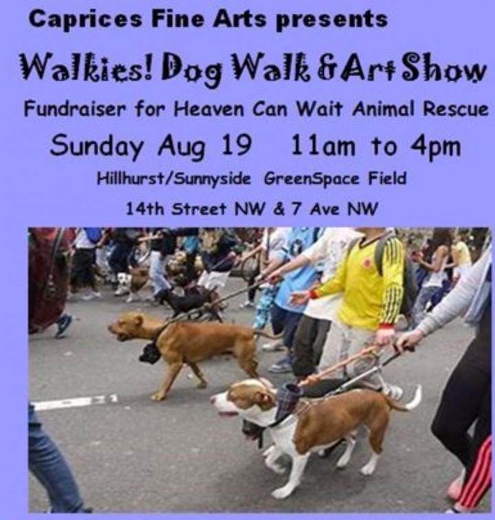 WALKIES! Dog Walk & Art Show