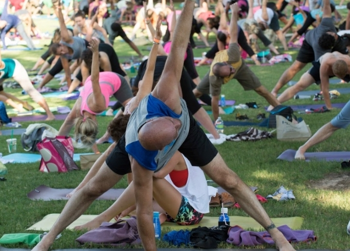 DFW Free Day of Yoga Kickoff Festival~ 12th A