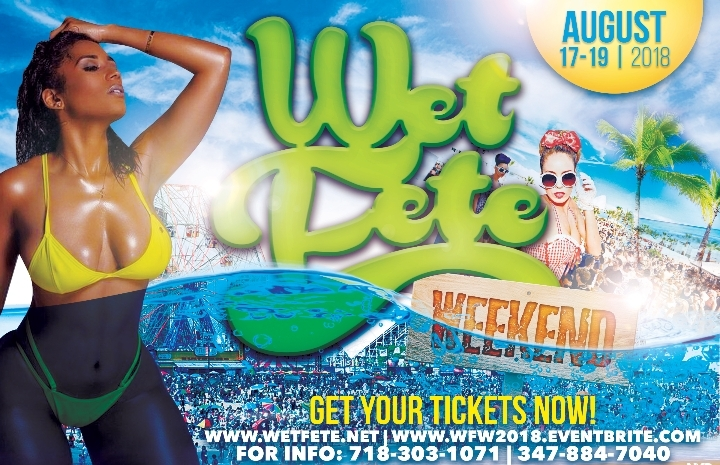 Wet Fete Weekend 2018