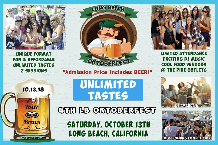 Long Beach Oktoberfest on 10.13.18