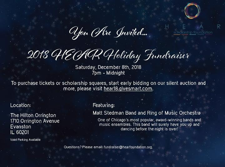 Annual HEAR Foundation Fundraiser