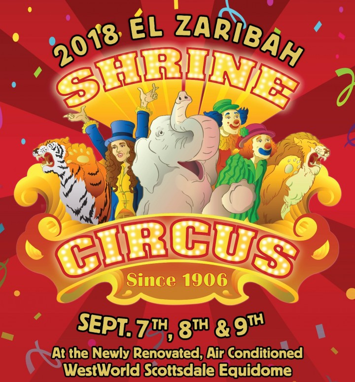 2018 El Zaribah Shrine Circus