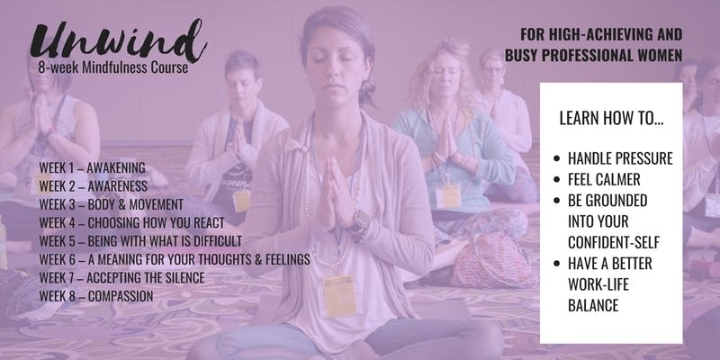 8-Week Mindfulness Course For High-Achieving & Busy Professional Women