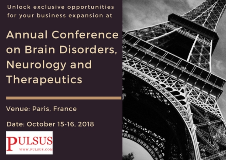 Annual Conference on Brain Disorders, Neurology and Therapeutics