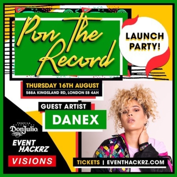 Pon The Record// Every Thursday// Visions Video Bar