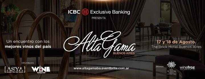 Alta Gama Buenos Aires 2018