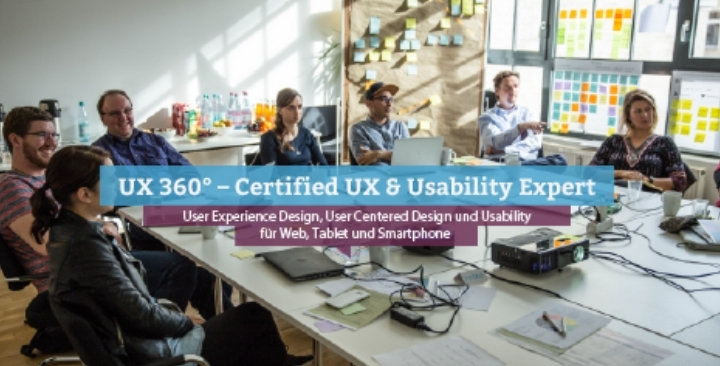 UX 360° – Certified UX & Usability Expert, Nü