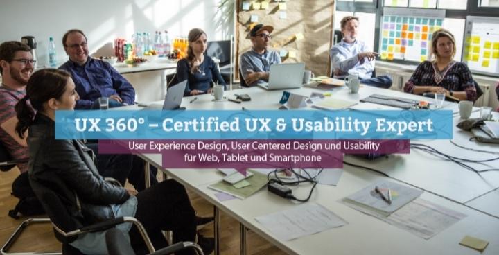 UX 360° – Certified UX & Usability Expert, Wien