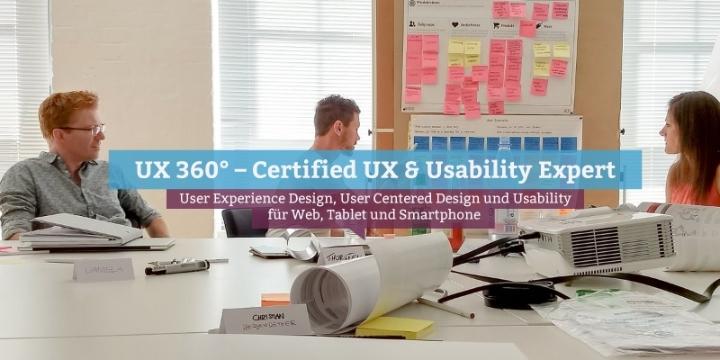 UX 360° – Certified UX & Usability Expert, Zürich