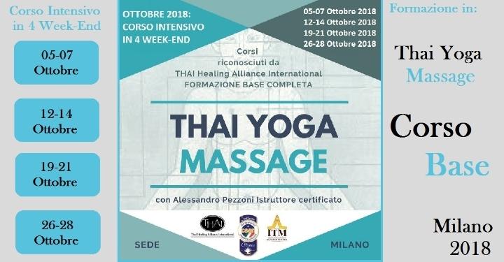 Thai Yoga Massage - Formazione Base Completa