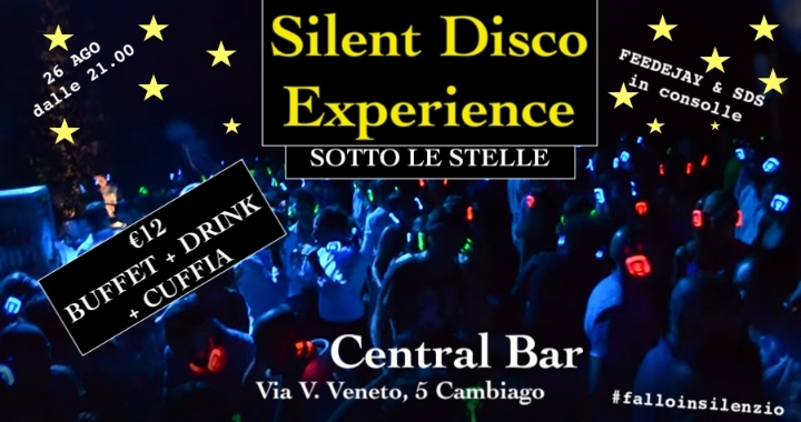 SILENT DISCO EXPERIENCE!