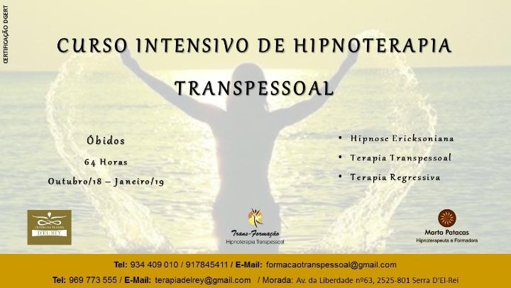 Curso Intensivo de Hipnoterapia Transpessoal