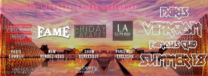"VipRoom Paris X Friday Cabaret ""Burlesque"""