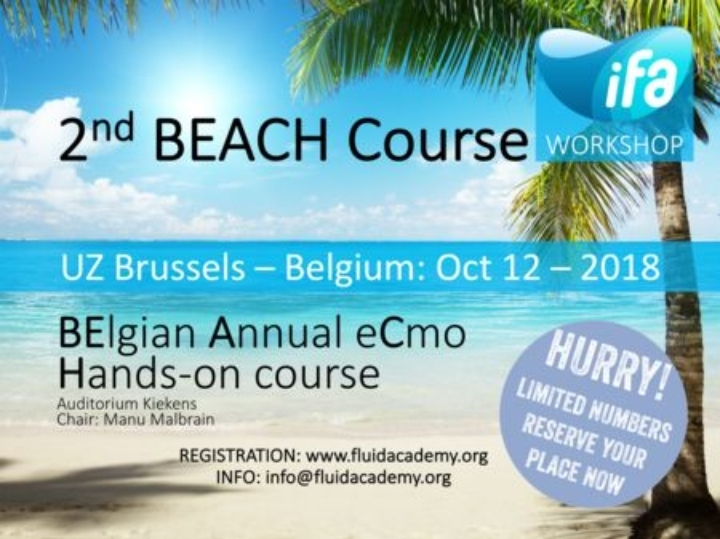 2nd BEACH course (BElgian Annual eCmo Hands-o