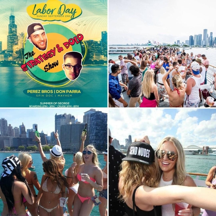 Labor Day Sunday Boat Party Ft. The Strategy