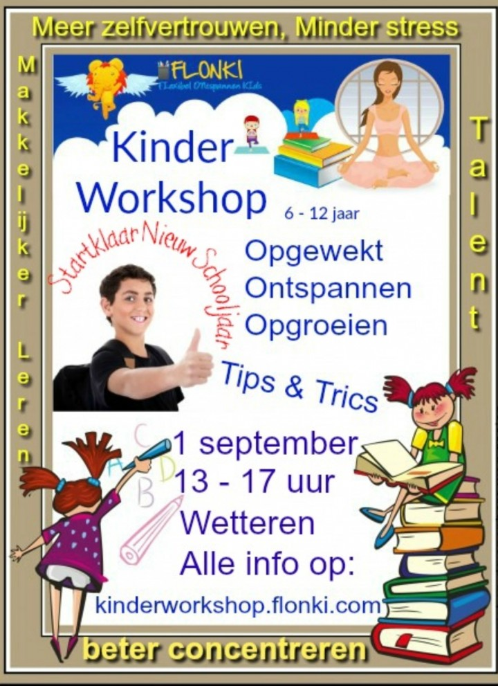 KinderWorkshop: Kinderen Vol Zelfvertrouwen,