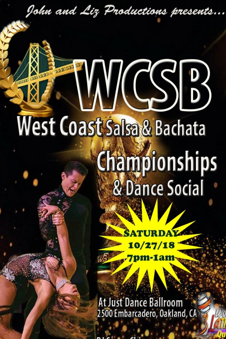 West Coast Salsa & Bachata Championships, Oct