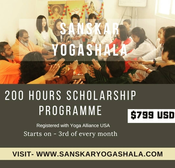 Affordable 200 Hour Yoga TTC Scholarship in R