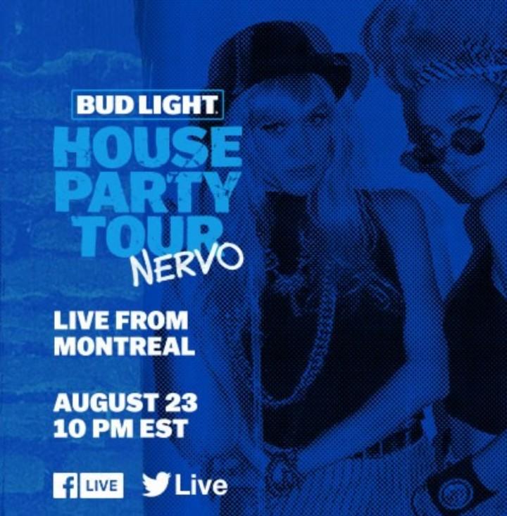 NERVO Bud Light House Party