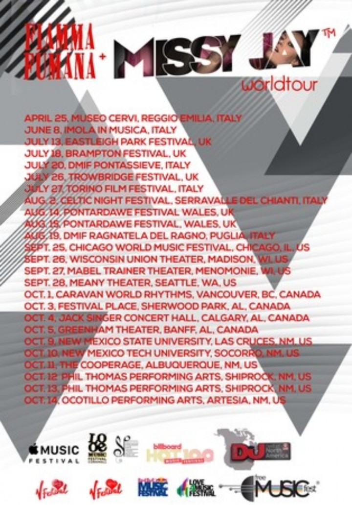 Missy Jay US Tour w/ Fiamma Fumana in Banff,