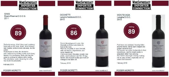 PODERI MORETTI open winery for tour and tasti