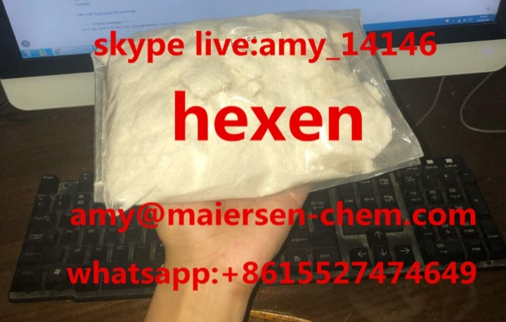 White Needle crystal hex-en hexen N-ethyl-hex