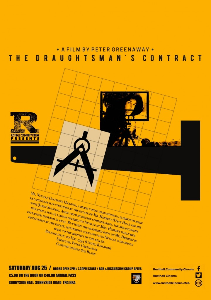 Film: The Draughtsman's Contract (1982; Cert.