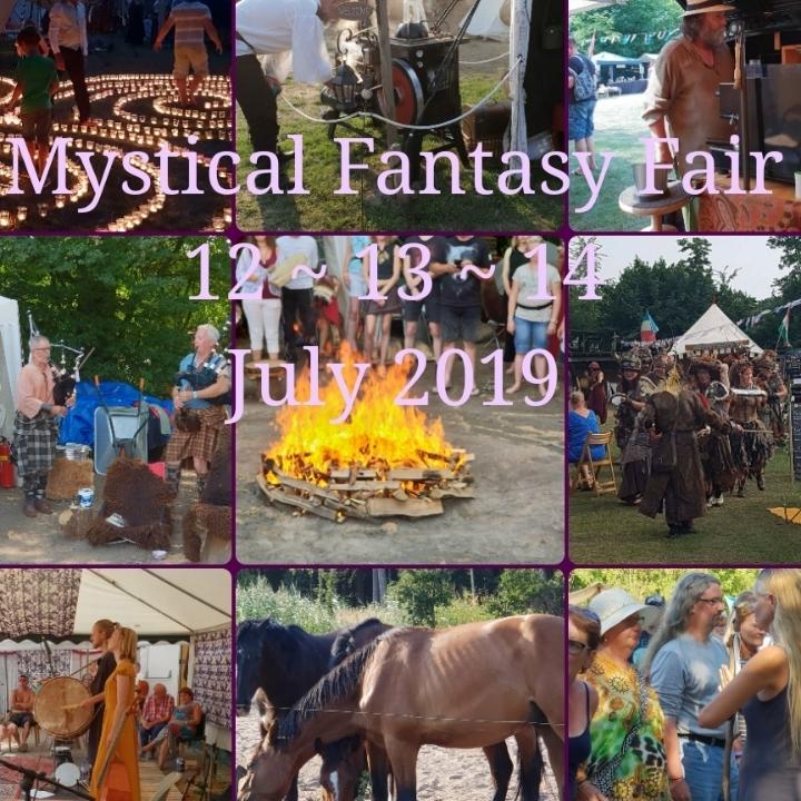 Mystical Fantasy Fair 12, 13 & 14 juli 2019