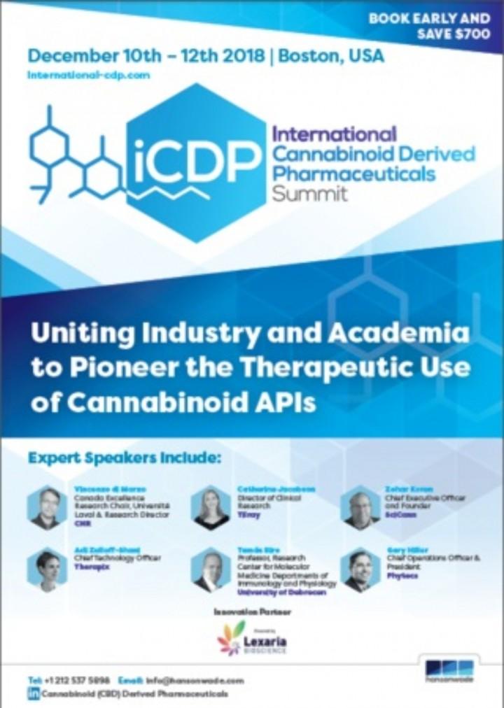 International Cannabinoid Derived Pharmaceuti