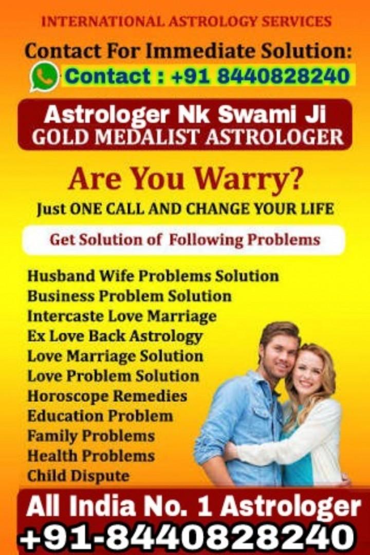 Tantra Mantra Specialist Astrologer +91 84408