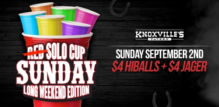 Solo Cup Sunday Long Weekend Party