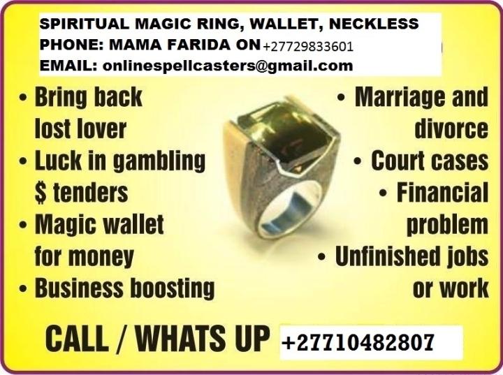 Fabulous Golden Powerful Magic Rings for Prot