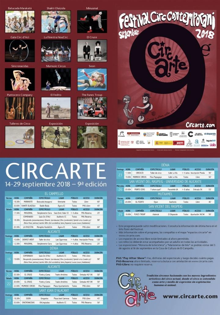 FESTIVAL CIRCARTE 2018